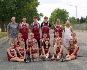 2018 Cross country team and coaches
