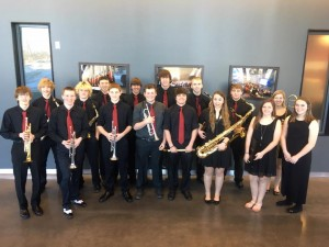Students who are part of Jazz band