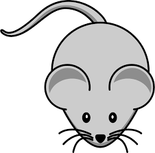 Picture of Cartoon Mouse. Click on it and it will link you to mousing practice website