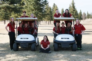 2017 Girls Golf Team Picture