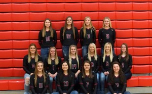 2017 Volleyball Team picture