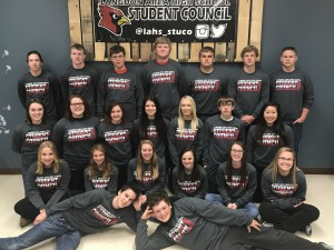 2017 LAHS Student Council Members